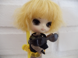 Pullip City Police Jack Ready for his Miami Closeup. Photo by Omnidoll 2014.