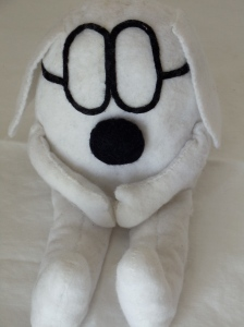 Dogbert from Dilbert made by Omnidoll. Photo by Omnidoll 2014.