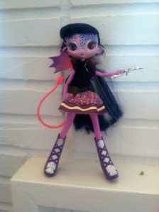 """EquestriAlien 2013 """"Frankendoll"""" type of customization by Omnidoll 2014. Photo by Omnidoll 2014."""