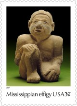 Mississippian effigy stamp from Wikipedia/effigy 2014.