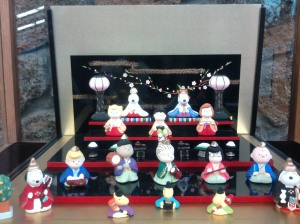 Hinamatsuri--Girls Day in Japan--Figures Portrayed as Peanuts Characters at the Charles R. Schultz Museum, Santa Rosa, CA. Photo by Omnidoll 2010.