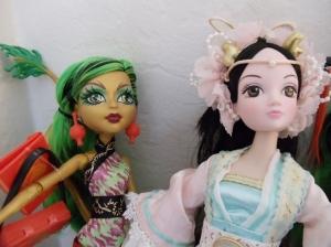 MH Scaremester Jinafire Long Dragon Character by Mattel with Kurhn Dragon Fairy Princess Closeups